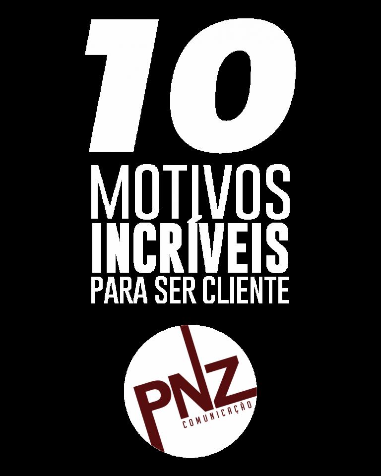 10 motivos agencia de publicidade pnz